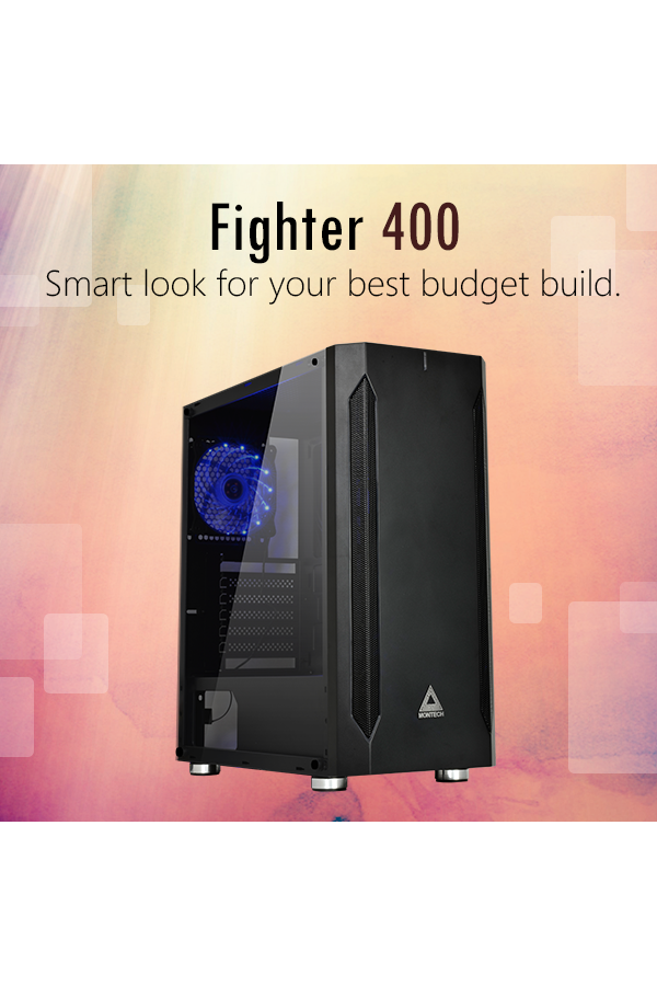 MONTECH Releases New Fighter 400 and Fighter 600 Budget Gaming Cases.
